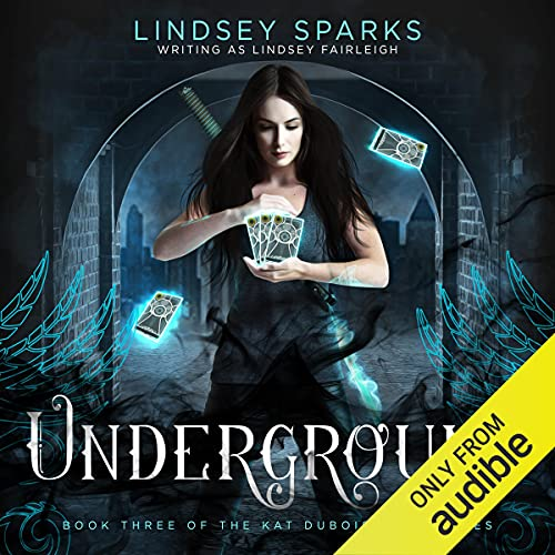 Underground Audiobook By Lindsey Fairleigh cover art