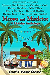 book cover Meows and Mistletoe A Holiday Anthology