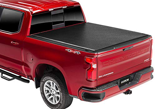 "Gator ETX Soft Roll Up Truck Bed Tonneau Cover | 137335 | Fits 2020 GMC Sierra & Chevrolet Silverado 2500HD & 3500HD  6'9"" Bed Bed 