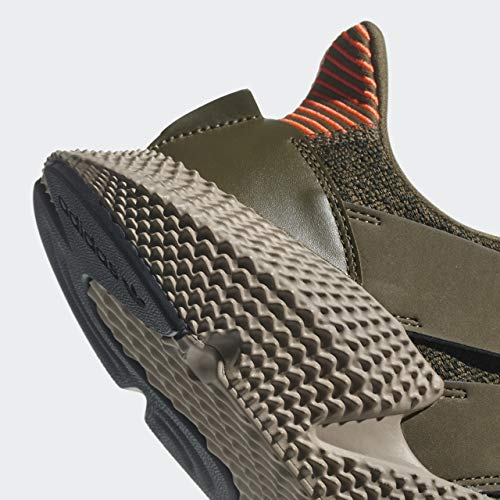 adidas Originals Homme Prophere Running Chaussures,Olive Rouge,42.5 EU
