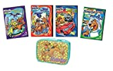 What's New Scooby-Doo Complete 4-Film Collection - Space Ape at the Cape/ Ghosts on the Go/ Zoinks Camera Action/ Route Scary Six + Bonus Lunch Bag