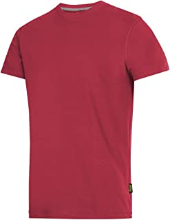 Snickers T-Shirt Size L in Chili red