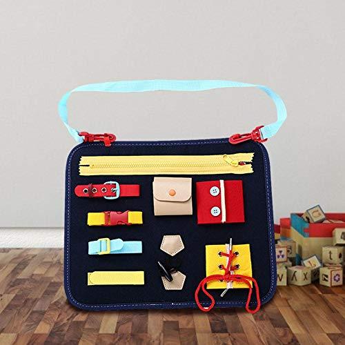SNIIA leerplank onderwijs 1-5 jaar oud speelgoed tekenbord leren dressing gesp kinderspeelgoed viltplank op schaal