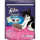 Felix Crunchy & Soft Junior, 4er Pack (4 x 950 g)