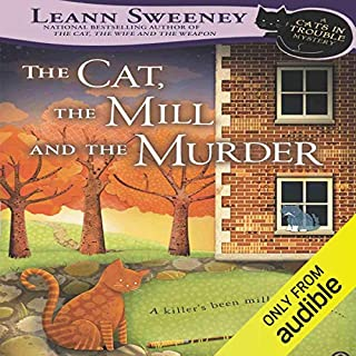 Page de couverture de The Cat, the Mill and the Murder