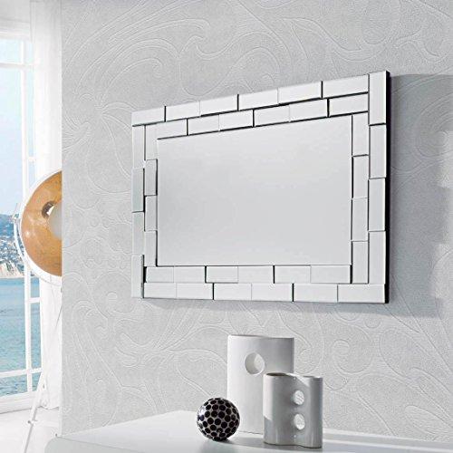 DUGARHOME - Espejos Modernos Cristal - Delia Rectangular (88x60)