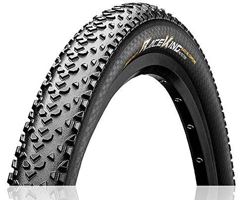 Continental Unisex– Erwachsene Race King Fahrradreifen, schwarz, 26 X 2.20