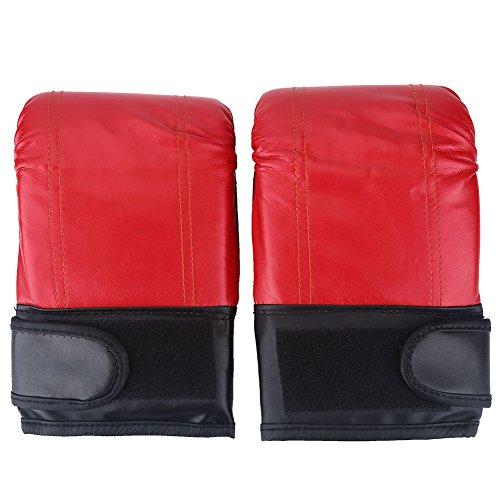 OhhGo guantoni da Boxe 1 Paio Allenamento Boxe Combattimento Muay Thai Sparring punzonatura Kickboxing Grappling sandbag Guanti per Uomo Donna