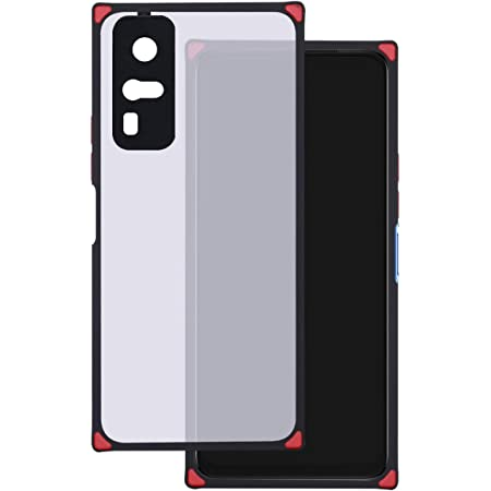Jkobi Silicone Square Smoke with Camera Protection Frame Back Cover Case for Vivo Y31 (2021) with Translucent Matte Finish (Black)