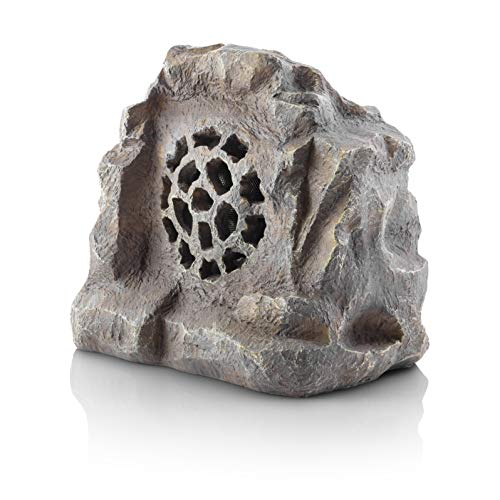 Alpine Corporation Waterproof Bluetooth Rock Speaker