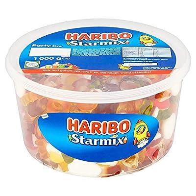 haribo starmix party size tub 1kg Haribo Starmix 1kg sweets party tub star mix 51z1Jg3C2zL