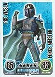Star Wars Force Attax único tarjeta 188Pre Vizsla mandalorian Force Meister Alemán