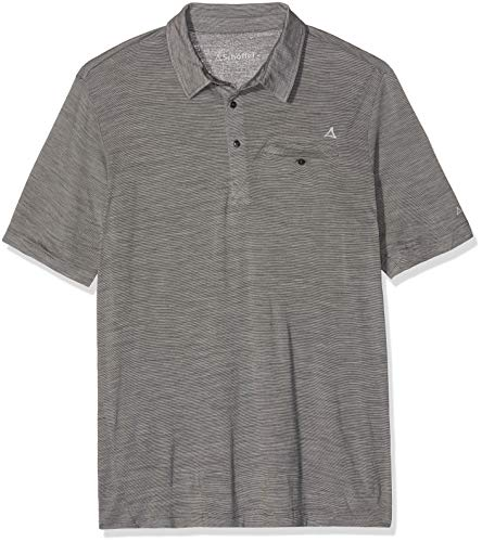 Schöffel Herren Polo Shirt Dover2' castlerock, 52