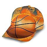 Gorra de béisbol curvada 3D Retro Baloncesto Curvado Ala Ajustable Snapback Gorras...