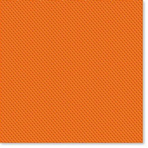 Papieren servetten met 2 vakken in oranje, 38 x 38 cm, voor eettafel BAR PUB FESTE