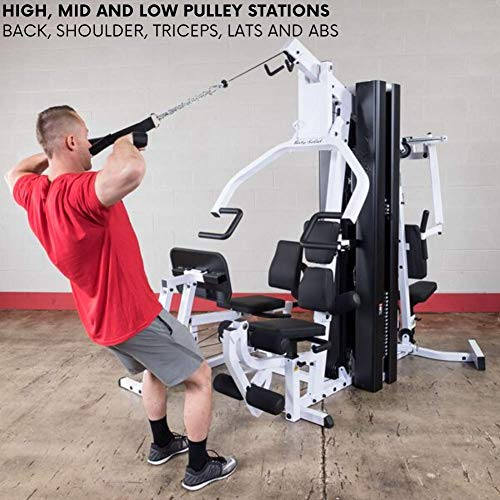 Product Image 3: Body-Solid EXM3000LPS Multi-Station Selectorized Gym for Light Commercial and Home Gym