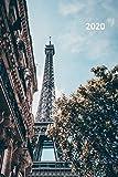 2020: La tour eiffel en francais convenient Planner Calendar Organizer Daily Weekly Monthly Student for notes on Paris vacation packages payment plans