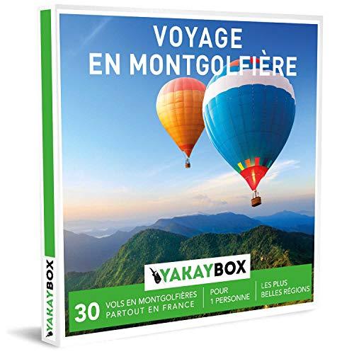 YAKAYBOX - Box Cadeau - Coffret Voyage en Montgolfière