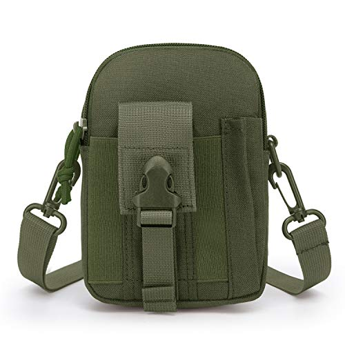 Mardingtop Molle Tasche Taktische Hüfttaschen Herren, Gürteltasche Bauchtasche Kompakt Handytasche Zubehör für Rucksäcke Multifunktional Toolkit für Outdoor Camping Wandern und Reisen