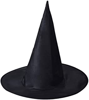 Feeke Bacekounefly Halloween Costume Witch Hat Accessory for Holiday Halloween Party