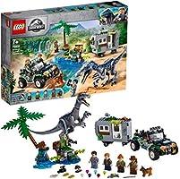 LEGO 75935 Jurassic World Confrontatie met Baryonyx: de schattenjacht Dinosaurus speelset & offroad buggy speelgoed