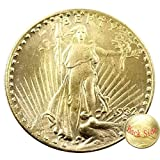 NiuChong Great Liberty Old Coin-1932 Replica Morgan Twenty-Dollars Coin- Carved US Coins - Handmade Crafts US Coin for Boys/Girls/Adults Love Products