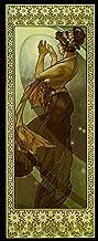 Fashion Girl Lady Pole Star 1902 by Alphonse Mucha 12