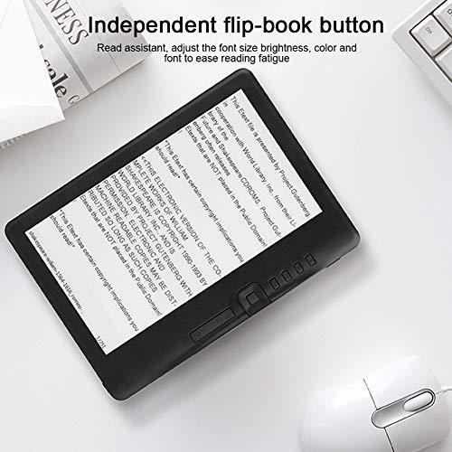 BTIHCEUOT Lector de Libros electrónicos, BK7019 Lector de Libros electrónicos portátil de 7 Pulgadas Pantalla Colorida Compatible con Tarjeta TF(8G) miniatura