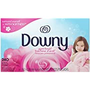 Downy Dryer Sheets Laundry Fabric Softener, April Fresh Scent, 240 Count