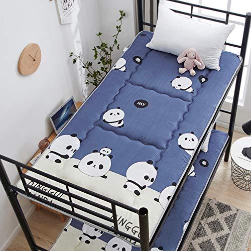MM-CDZ Gestikte slaapzaal, bedmatras, anti-slip vouwen Japanse vloerbedekking, zacht slapen, tatami vloermat, bed, topper, gestoffeerde meubels voor thuis