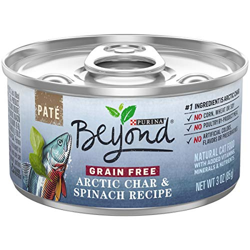 Purina Beyond Indoor Grain Free, Natural Pate Wet Cat Food,...
