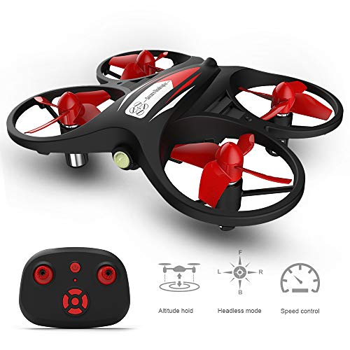 GoolRC RC Mini Drone for Kids and Beginner Quadcopter KF608 Altitude Holding Headless Mode 3D Rolling Speed Switch for Kids Gift