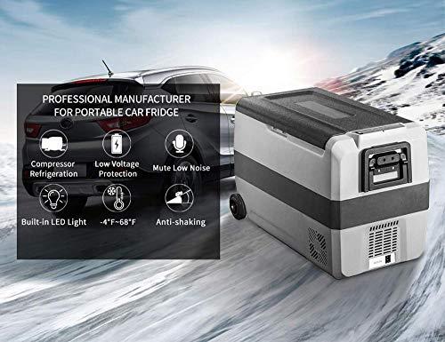 LIXUDECO Mini Nevera Refrigerador de Coche de 60L 12V 24V refrigerador de refrigerador de refrigerador rápido para Viajes al Aire Libre Oficina de la casa (Color Name : 36L)