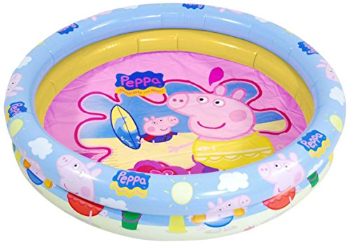 Peppa Pig - Piscina Hinchable, 110 cm (Saica Toys 9114)
