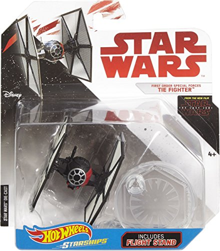 Hot Wheels Star Wars The Last Jedi First Order Special Forces Tie Fighter