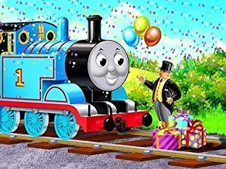 SDore THOMAS TRAIN edible party 1/4 Sheet Image Frosting Cake Topper decoration birthday