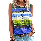 T-Shirt Colore Misto Moda Casual Chic Traspirante Pull On Top Comfort Yoga al Coperto Top Camicie da Palestra per Esercizi