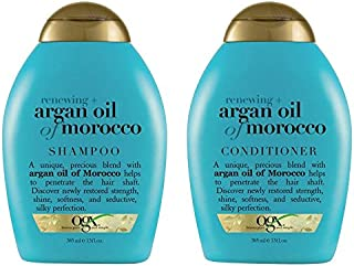 OGX Moroccan Argan Oil Shampoo + Conditioner Combo Pack(385ml x 2)