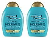 (OGX) Organix Shampoo Moroccan Argan Oil + conditioner, 13 oz combo