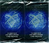 Mortal Instruments: City of Bones Trading Card Pack Retail Version - 2 Pack Lot
