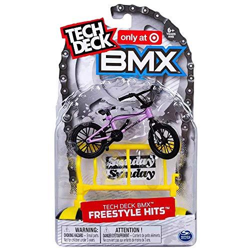 BMX Tech Deck Freestyle Hits Sunday - Telaio in metallo, colore: Lavanda