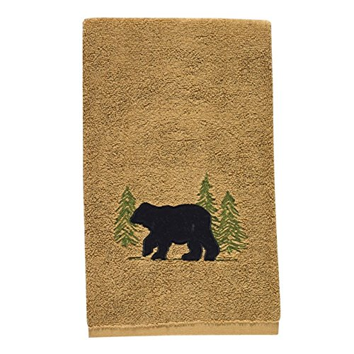 Park Designs Black Bear Terry Hand Towel