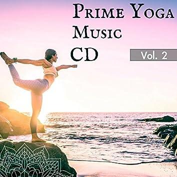 Prime Yoga Music CD for Yoga Teachers & Classes - Vol.2