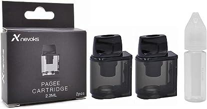 正規品 NEVOKS Pagee 交換用 ポッド カードリッジ 2個入り Amazon限定 ICE VAPE エンプティボトル付き