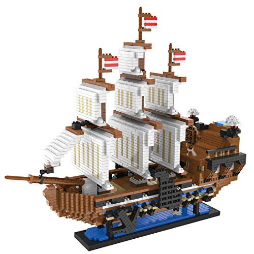 CYGG Modelo de construcción de Buques Piratas, Conjunto de Edificios de Buques de Piratas de Oro Hunter - 3096 PCS