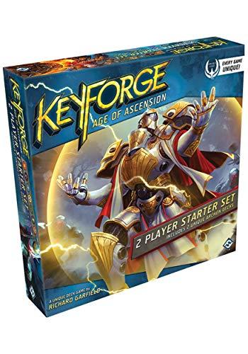 Fantasy Flight Games KeyForge: Age of Ascension Two-Player Starter Set Unique Deck Game