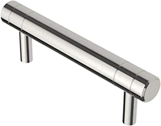 Liberty Hardware P37509C-PC-CP Etched Modern 3 in. (76mm) Pull, Polished Chrome - 10 Pack