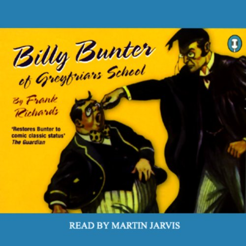 Billy Bunter of Greyfriars School audiobook cover art