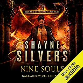 Page de couverture de Nine Souls: A Nate Temple Supernatural Thriller