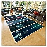 LLY Carpeta de Harry Potter Wands, Alfombra, Alfombra, Alfombra de Adolescentes, Alfombra Moderna (Size : 91x152cm)